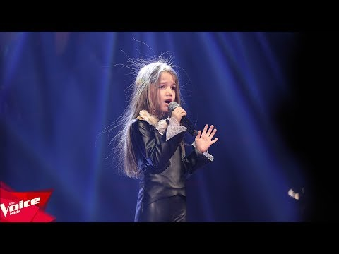 Sibora - I'm sorry | The Blind Auditions | The Voice Kids Albania 2018