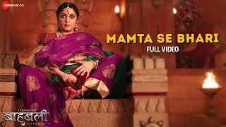 Mamta Se Bhari - Full Video | Baahubali - The Beginning | Prabhas & Rana Daggubati | Bombay Jayashri