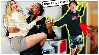 I *WALK-IN* ON MY STEP-DAD With ANOTHER WOMAN PRANK!! | The Family Project