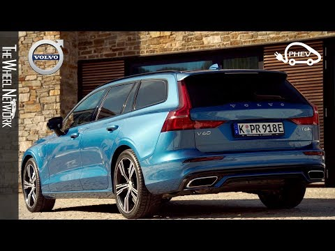 2020 Volvo V60 T6 Twin Engine Plug-in Hybrid | Driving, Interior, Exterior