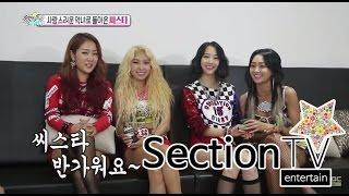 [Section TV] 섹션 TV - SISTAR Hyorin, match well 'Lovely villainess' concept 20150628