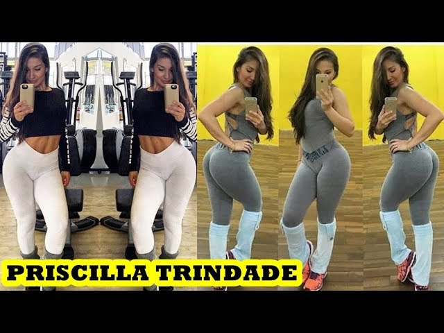 Priscilla Trindade - Brazilian Fitness Model / Female Muscle Training Exercises