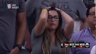 INTENSE Last Minutes | Houston Rockets vs San Antonio Spurs | Game 5 | 4th Overtime