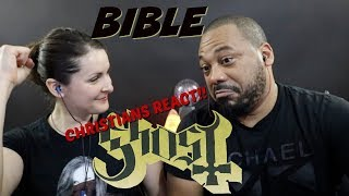 Christians React To Ghost Bible!!