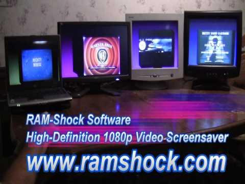 Video Screensaver QMCHD - Single, Dual, Triple, and Quad Monitor Capable - 1 of 3