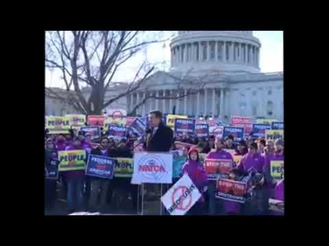 NATCA Shutdown Rally