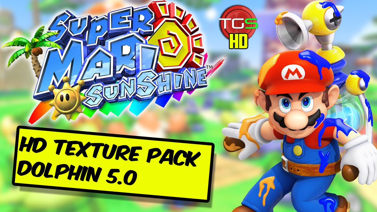Super Mario Sunshine - Dolphin 5 0 & HD Texture Pack!