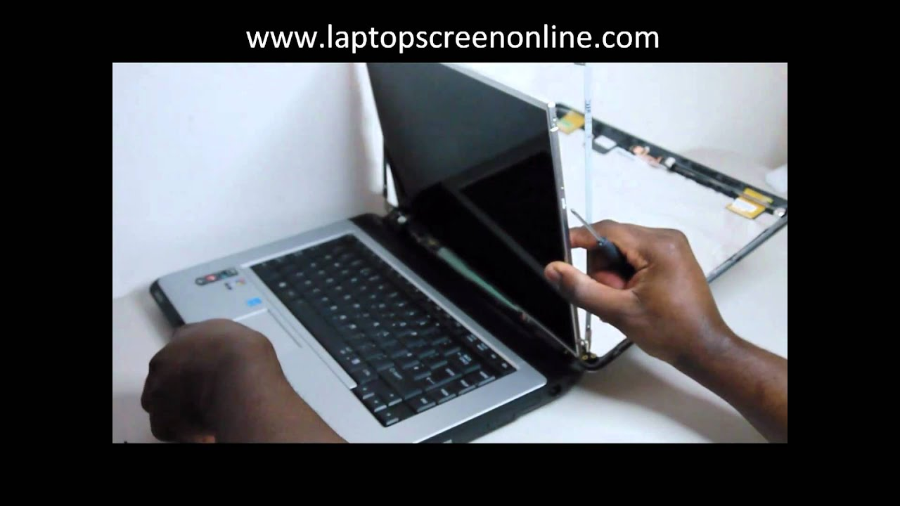 Laptop Screen Replacement Repair How To Replace Laptop