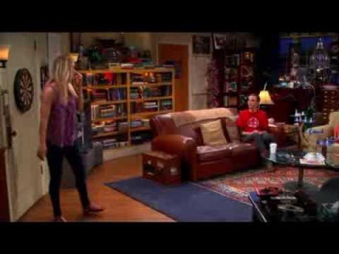 Sheldon hugged Penny... again.