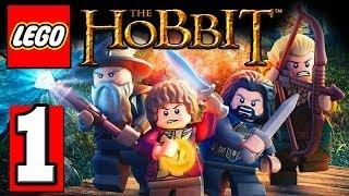 "LEGO The HOBBIT Gameplay Walkthrough Part 1 Lets Playthrough XBOX 360 PS3 PC [HD] ""LEGO The Hobbit"""