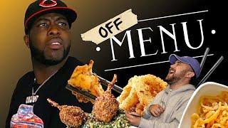 DJ Luke Nasty Tastes Frog | OFF MENU