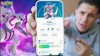NEW *PALKIA* is HERE in Pokémon GO! (NEW Legnedary)