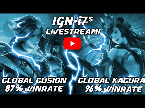 i7̶ˢ is Live! Road To Global 1 Gusion! Mobile Legends Bang Bang thumbnail