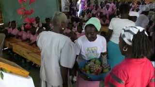 Orthodox Haiti Schools- St. Ireneas School in Maissade presents Fruits of Thanks! (ROCOR)