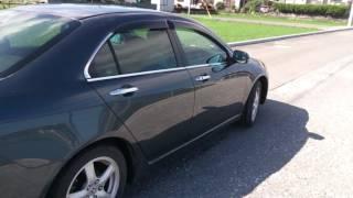 Видео-тест автомобиля Honda Accord CL9-1000485, K24A, темно-серый, 2002 г.)