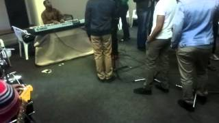 Rehearsals of Spirit of Praise ft  Dube BROTHERS