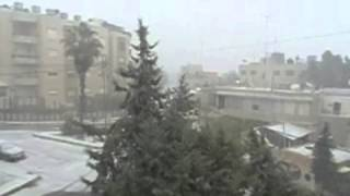Snow Day in Amman