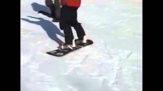 Урок№ 4 Видео как научиться кататься на сноуборде