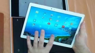 Teclast Master T10 Tablet PC Fingerprint Sensor Unboxing - Review Price