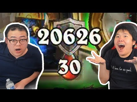 THIS DECK GAVE US *20,000* ARMOR?! | Ice Cream Shaman | Rastakhan's Rumble | Hearthstone