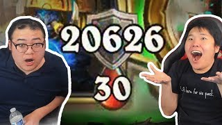 THIS DECK GAVE US *20,000* ARMOR?! | Ice Cream Shaman | Rastakhan