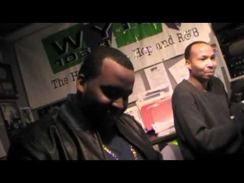JoshuaSquire 1st Time At WYNN 106.3 RadioStation