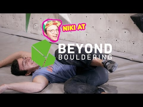 Niki at Beyond Bouldering in Adelaide // Route setting in South Australia