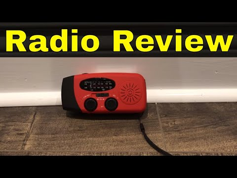 Meco Emergency Radio Review-Solar Power And Hand Crank