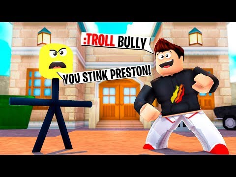 TROLLING ROBLOX BULLY WITH ADMIN COMMANDS!
