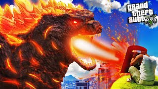 Finding LAVA NUCLEAR GODZILLA In GTA 5 (Super Powerful)