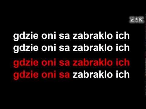 ♫♪♫♪ Republika - Biała flaga - Zajebiste karaoke (z linią melodyczną)