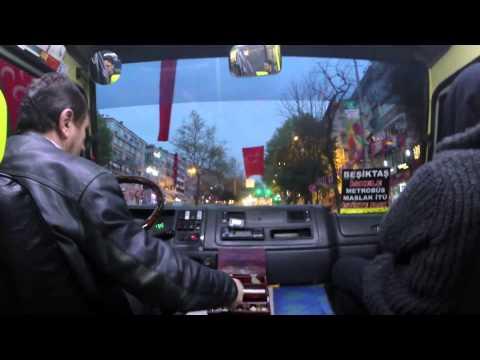 Dolmus Ride Istanbul