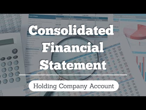 Consolidated Financial Statement | Holding Co A/c by CA Raj K Agrawal