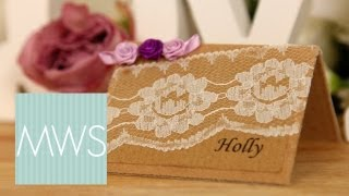Wedding Place Cards: Maid At Home S01e8/8