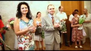 Романтическая свадьба, красивое свадебное видео, профессиональное видео на свадьбу Укаина, Киев, Днепропетовск