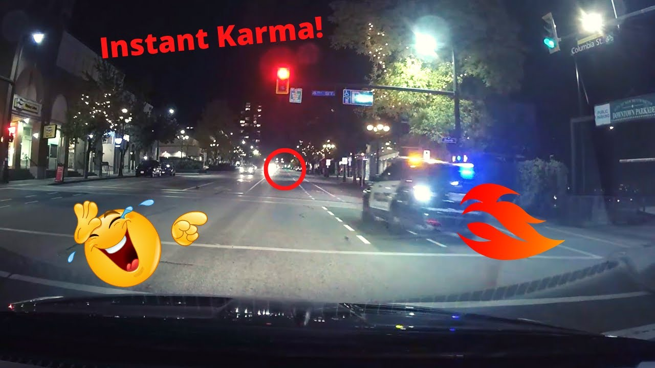 Vancouver's Worst Drivers: Police Instant Karma!
