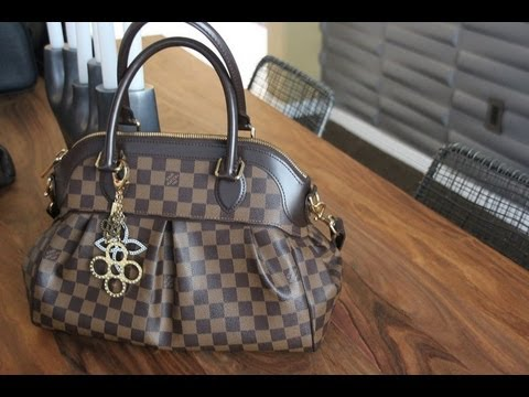 8e6bb7b4844 54. Requested Louis Vuitton Trevi PM Review - YouTube