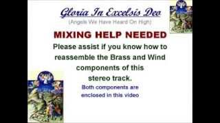 Gloria In Excelsis Deo (Fife & Brass) - Mixing Help Needed