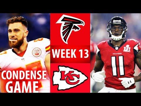 🁢 2016 🁢 KC Chiefs Vs ATL Falcons 🁢 Week 13 🁢 Condense Game