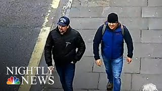 Russians Accused Of Poisoning Ex-Spy Claim They Were In UK As Tourists | NBC Nightly News