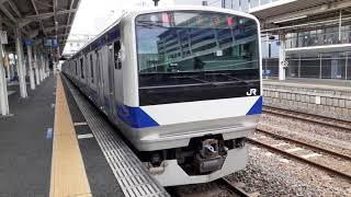 ピッカピッカのE531系K481編成が土浦駅に回送で到着