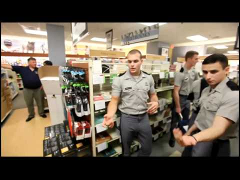 The Citadel Class of 2015 - First trip to the bookstore