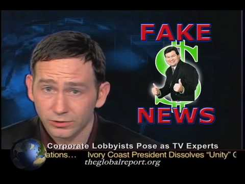 Corporate Lobbyists Pose As TV 'Experts'