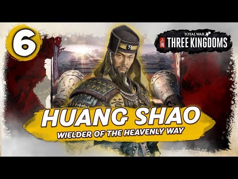 WARLORD INVASION! Total War: Three Kingdoms - Huang Shao - Romance Campaign #6