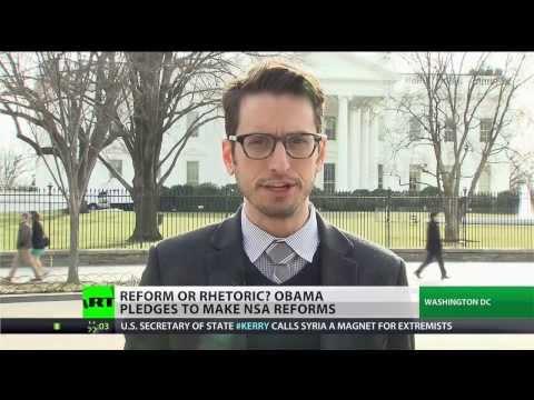 Obama tackles NSA reforms, preserves bulk collection