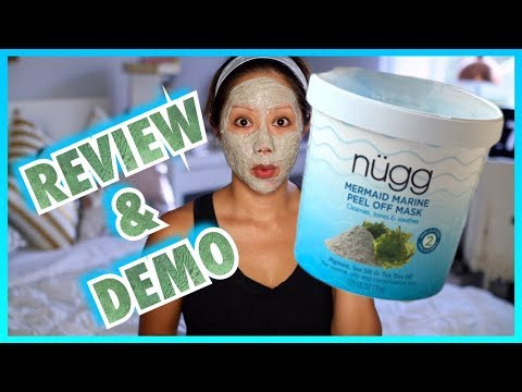 Nugg Mermaid Marine Peel Off Mask Review & Demo | Twilightchic143
