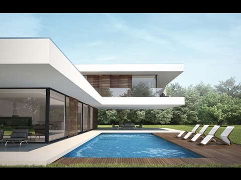 Modern house project Villa C by NG architects