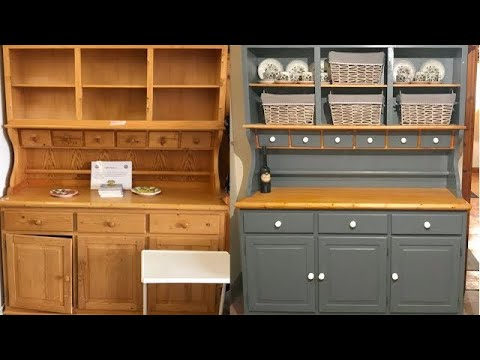 Upcycling A Welsh Dresser