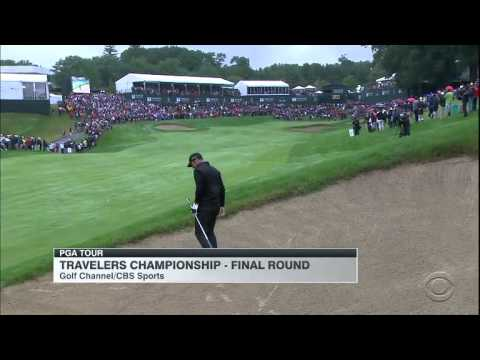 After wild 8-hole playoff, Harris English wins Travelers Championship