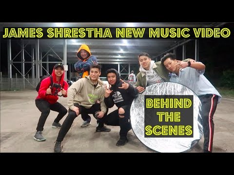 James Shrestha New Music Video Shoot | Raat Ma | Sega Gurung